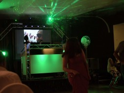Wedding mobile disco at redditch studley road social club